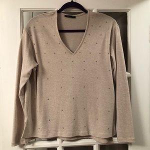 Zara sweater V neck size small